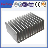 Hot! cnc cutting heat insulation aluminium profile, anodized heatsink aluminium extrusions for sale
