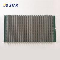 China High Quality Long Working Time Wave Vibrator Shaker Screen for Mud Water Separation for sale