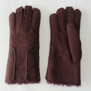Wholesale factory price Shearling Sheepskin Gloves women ladies sheepskin gloves