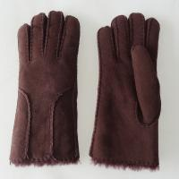 Quality Wholesale factory price Shearling Sheepskin Gloves women ladies sheepskin gloves for sale