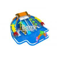Wholesale Giant Inflatable Water Park , Commercial Jungle House Water Park For Kids from china suppliers