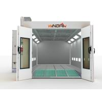 Quality Emergency Stop Car Waterborn paint and drying Room, Water Spray Booth for sale