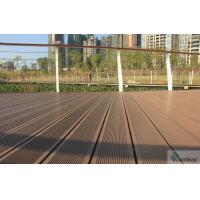 Wholesale WPC WOOD PLASTIC COMPOSITE TERRACE DECK/OUTDOOR DECKING / SOLID WPC DECKING BOARD from china suppliers