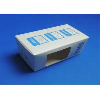 Wholesale PVC Window Custom Packaging Boxes Full color / Single Color Gloss Lamination from china suppliers