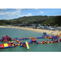 Wholesale Amazing Inflatable Water Park For Lake , Huge Water Park Inflatable With 0.9mm PVC from china suppliers