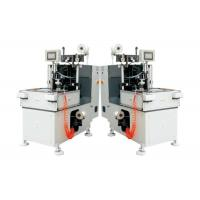 China Double Heads Stator Lacing Machine With Turntable For Electrical Fan Motor Making on sale