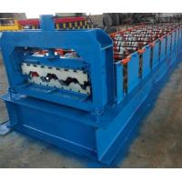 China 15KW Floor Deck Roll Forming Machine For Metal Structural Building Construction on sale