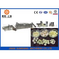 Wholesale Cheerio Honey Ring Snack Food Production Line With ISO , Snack Food Processing Machinery from china suppliers