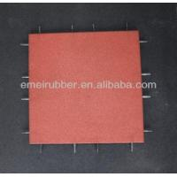 Quality play sports rubber floor tiles paver for sale for sale