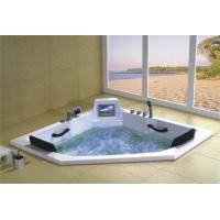 Wholesale Luxury Drop in 2 Person Jetted Bathtub from china suppliers