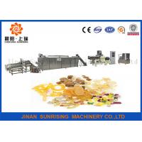 Wholesale Long Performance Automatic Snack Food Extruder Machine Corn / Wheat Flour Raw Materials from china suppliers