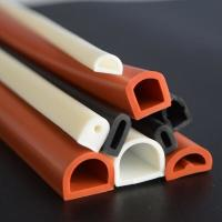 Wholesale Good elastic silicone rubber tube/flame retardant rubber pipe/masking rubber tube from china suppliers