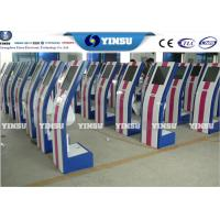 Quality Touch Monitor Self Serve Automated Ticket Kiosk / Wireless Queue Management System for sale