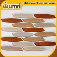 Buy cheap Colorful mosaic tiles in knife shape by water jet cutting technology from wholesalers
