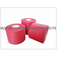Quality No Adhesive Colored Breathable Porous Foam Underwrap Sports Pre Tape Red for sale