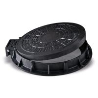 Wholesale Round Light Duty Cast Iron Manhole Cover 600 x 600 With Frame SGS Approval from china suppliers