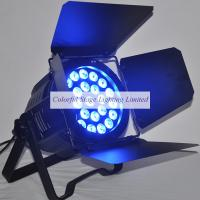 24x15W RGBAW 5 in 1 LED Par 64 Light with rotating barn doors