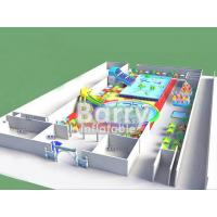 Wholesale Pool slide inflatable water park  , funny inflatable park designed for kids from china suppliers
