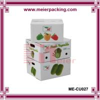 Wholesale delicate corrugated carton box for packaging fruits and vegetables ME-CU028 from china suppliers