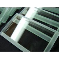 China Customized Heat Resistant Optical Quality Glass Tempered Borosilicate Glass on sale