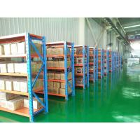 Wholesale White / Blue 4 Layers Light Duty Racking For Warehouse Adjustable Structure from china suppliers