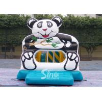 China Indoor Panda Inflatable Bounce Houses Mini Jumping Castles for Sale for sale