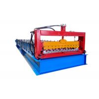 China Computer Control PPGI Steel Sheet Roll Forming Machine For Construction Material on sale