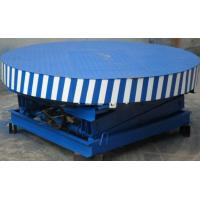 China 3500kg stage rotating hydraulic table lift with 200 ~ 500 kg Loading Capacity on sale