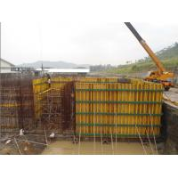 Waterproof Concrete Wall Formwork , High Security Panel Formwork for sale