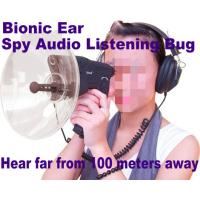 Wholesale Bionic Ear Remote Sound Recorder 100 meters headphone Spy Audio Listening Amplifier Bug from china suppliers