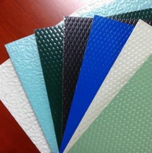 China Professional Embossed Aluminium Plates  Embossed Aluminium Corrugated Sheet on sale