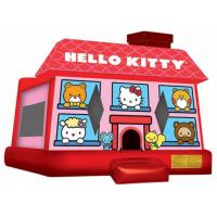 Wholesale Cute Red Inflatable Bouncer , Hello Kitty Inflatable Bouncer For Kid Playing from china suppliers