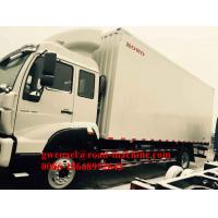 Wholesale Loading 9000KG Light Commercial Vans For Transport Foods and Beverage from china suppliers
