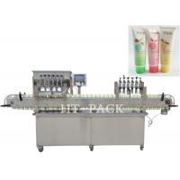 Quality High Efficiency Cosmetic Cream Filling Machine With PLC Control for sale