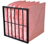 Wholesale Yellow medium efficiency bag filters for clean room from china suppliers