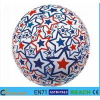 Wholesale Super Bright Light Up Beach Balls , PVC Vinyl 16 Inch Beach Ball With Lively Printing from china suppliers