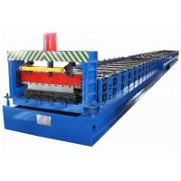 China Building Material Metal Floor Deck Roll Forming Machine with 2 Years Warranty on sale