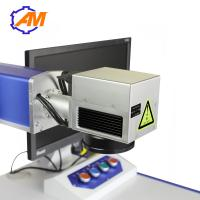 Wholesale 20W Desktop Fiber Laser Marking Machine for ring medal watch and metal from china suppliers