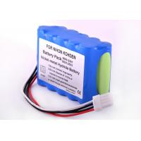 Buy cheap 3800 MAh 1.2 V Nimh Rechargeable Batteries For Nihon Kohden Monitor 167 X 95 X 32 Mm from wholesalers