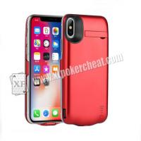 Buy cheap 5.8 Inch iPhone X Power Case Camera For Poker cheat With 20 - 60cm Distance from wholesalers