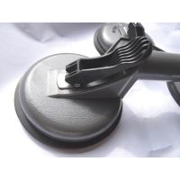 Quality Heavy Duty Aluminum silver grey finish Suction Cup Plate Double Handle for sale
