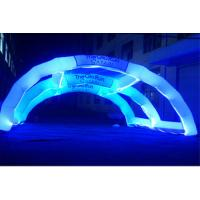 Wholesale Decorative Inflatable Advertising Products , LED Light Inflatable Rainbow Arch from china suppliers