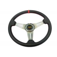 Wholesale PU Material Race Car Steering Wheel Protect Hands From Over - Hot / Cold from china suppliers