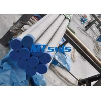 Wholesale ASTM A790 / ASME SA790 Duplex Steel Pipe For Heat Coils , 6000mm Stainless Seamless Pipe from china suppliers
