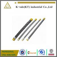 China AISI 304 316 7x19 Stainless Steel Wire Rope on sale