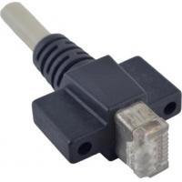 China Cat 6 RJ45 Vertical Fastest Ethernet Cable Assemblies For Machine Vision Systems on sale