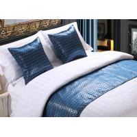 Wholesale Shining Imitated Silk Bed Runner Luxury Decorative For Hotel from china suppliers