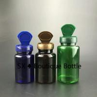 Wholesale 225ml Pharmaceutical Blue PET Plastic Health Care Medical Pill Bottle flip cap from china suppliers