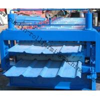 Wholesale Metal Roofing Double Layer Roof Tile Roll Forming Machine, High Quality Professional Durable Roof Tiles Bending Machine from china suppliers