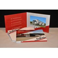 Wholesale TFT HD Screen business cards and brochures Pocket Style For Presentation , Ceremony from china suppliers